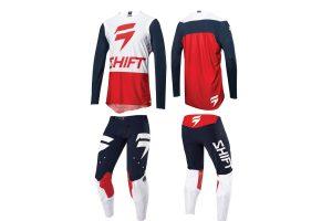 Product: 2018 Shift MX 3LUE Label gear set
