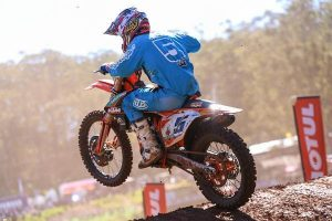Gibbs and KTM power to another podium at Echo Valley